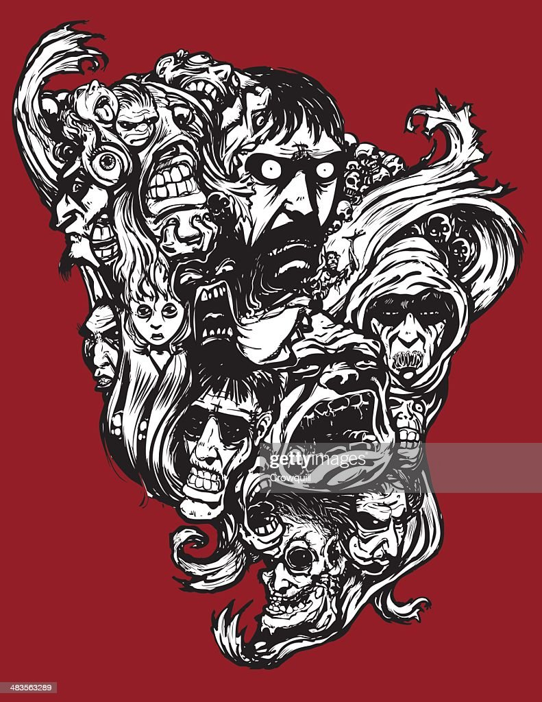 Horror Art : Vector Art