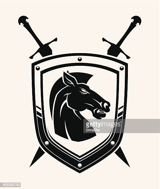 Horse head coat of arms