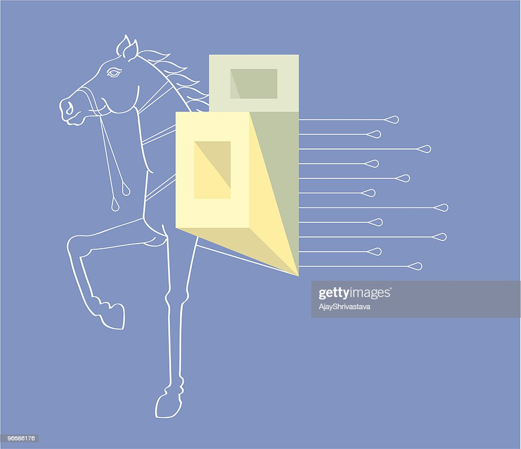 Horse The Symbol Of Speed Power Action Vector Art Getty Images