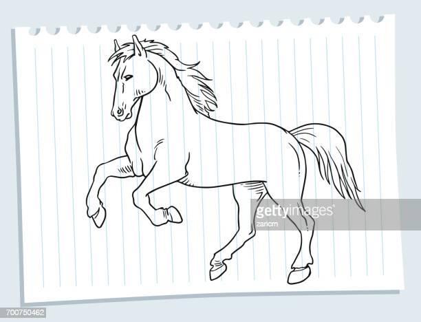 horse - horse family stock illustrations, clip art, cartoons, & icons