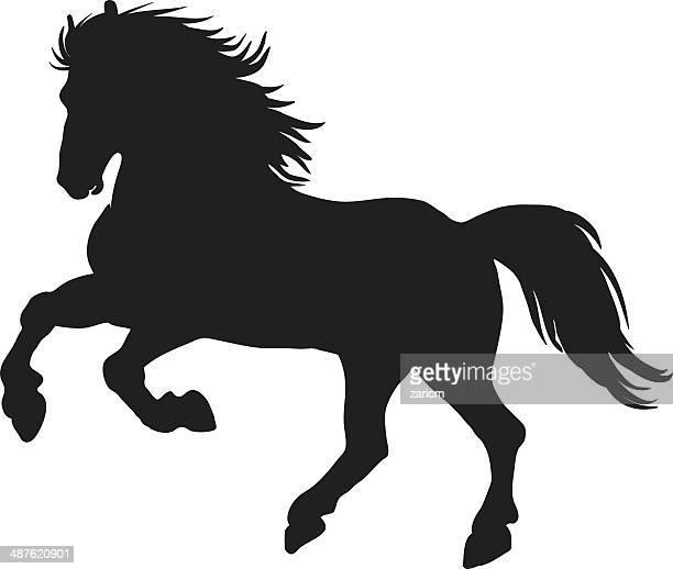 horses - horse family stock illustrations, clip art, cartoons, & icons