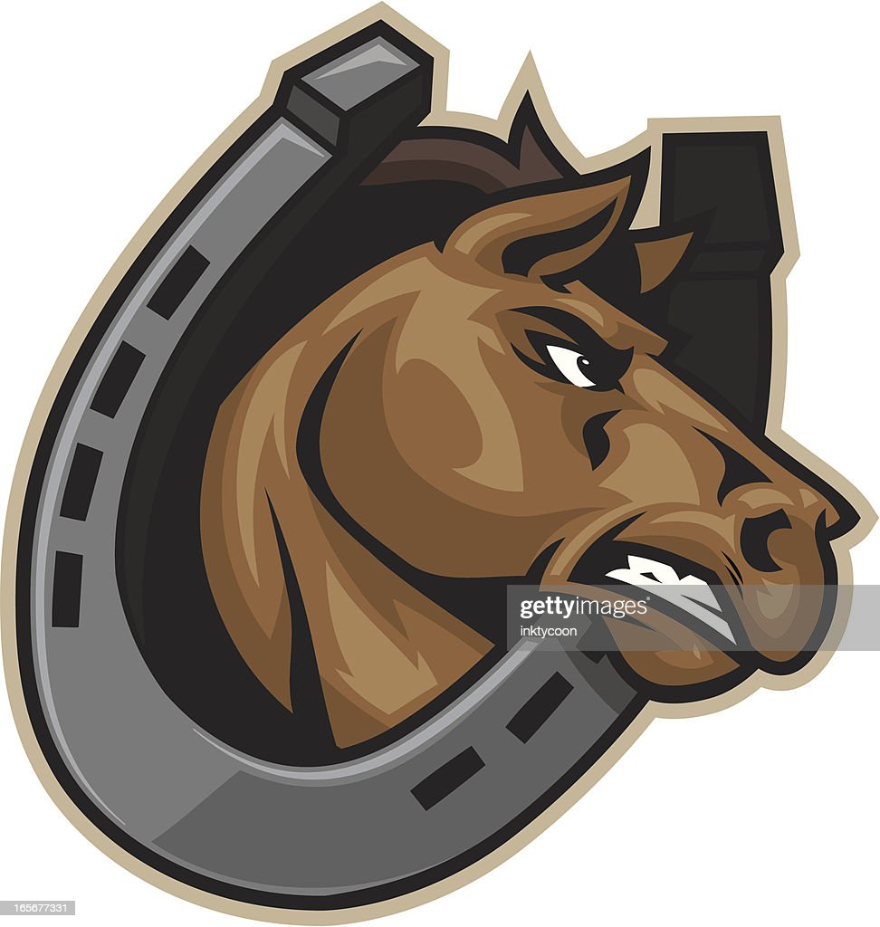 Horseshoe And Horse High Res Vector Graphic Getty Images