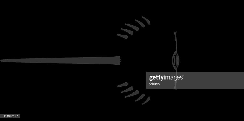horseshoe crab silhouette