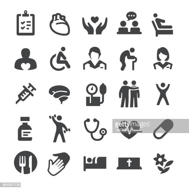 Hospice Care and Nursing Home Icons - Smart Series