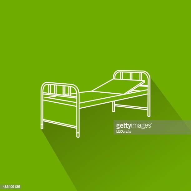 Ícone de Hospital cama