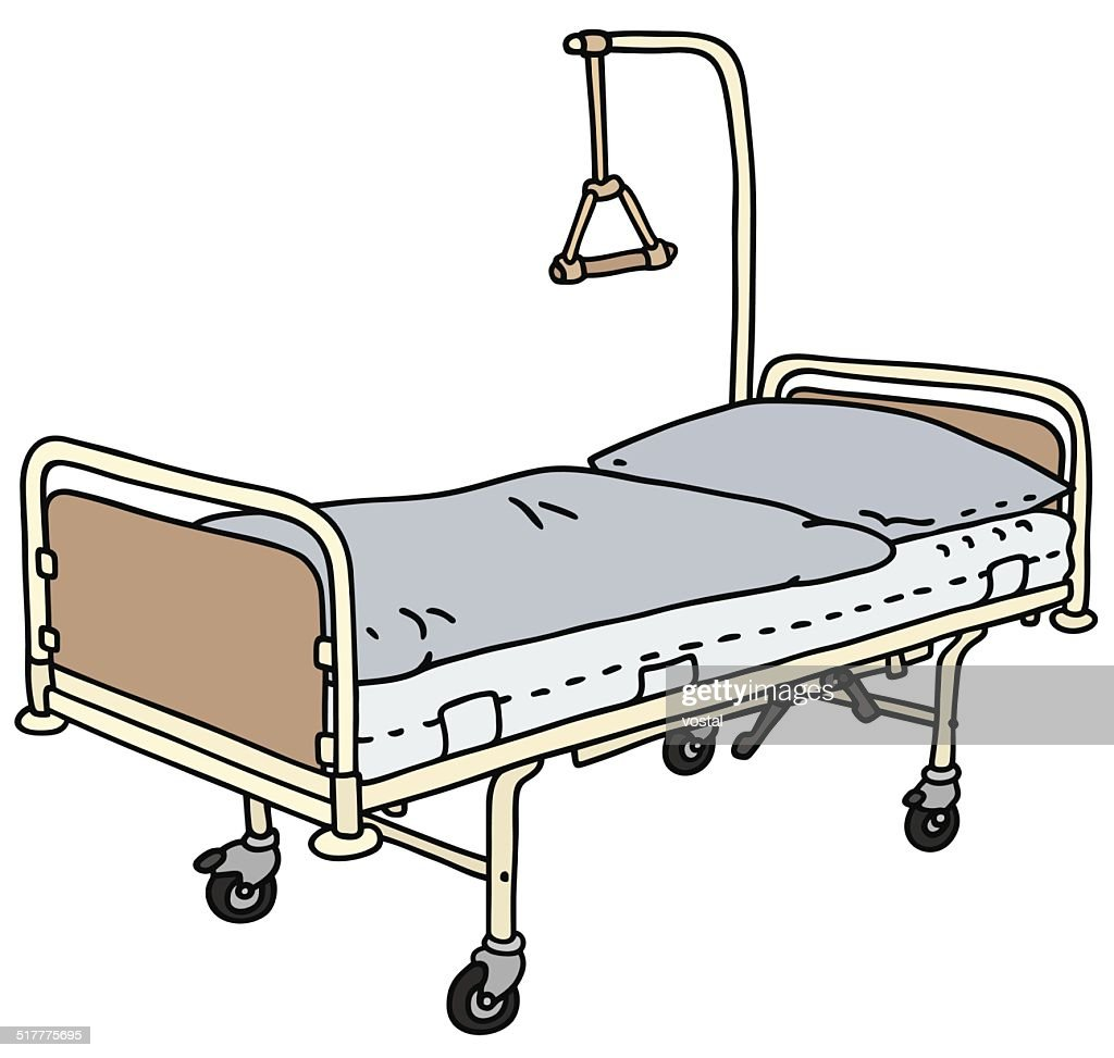 hospital bed high res vector graphic getty images