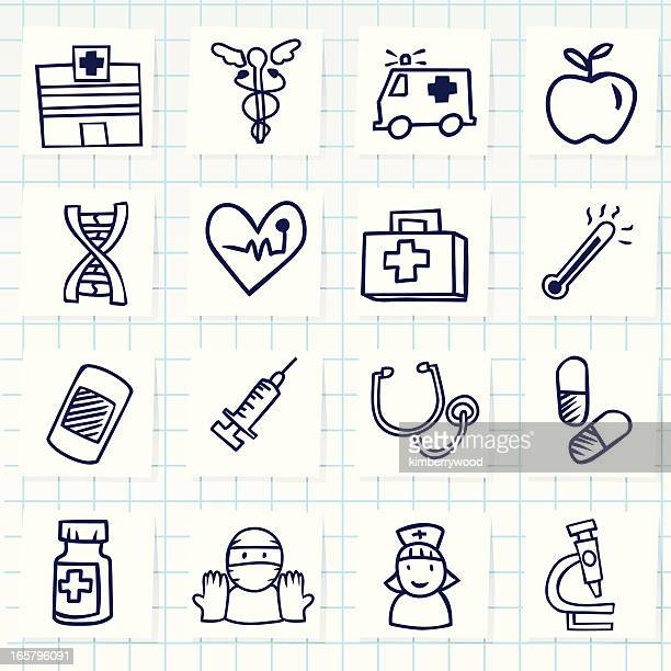 hospital icon - injecting stock illustrations
