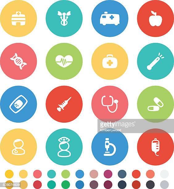 病院のアイコン - heart shape点のイラスト素材/クリップアート素材/マンガ素材/アイコン素材