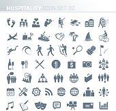 Hospitality activity icons