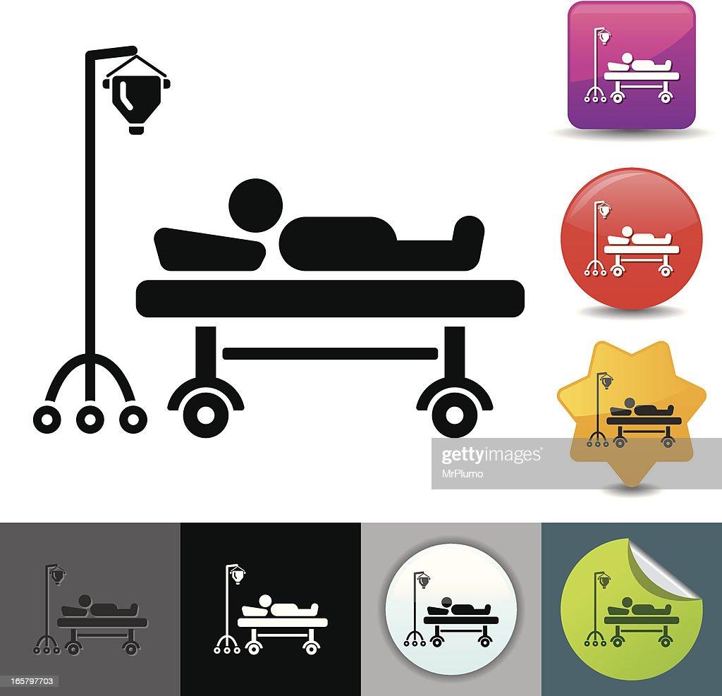 Hospitalization icon | solicosi series