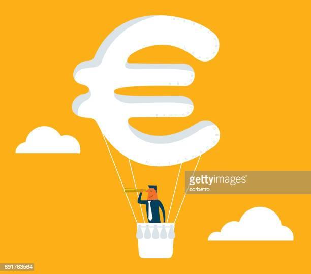 Hot Air Balloon - Euro