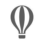 Hot Air Balloon Icon
