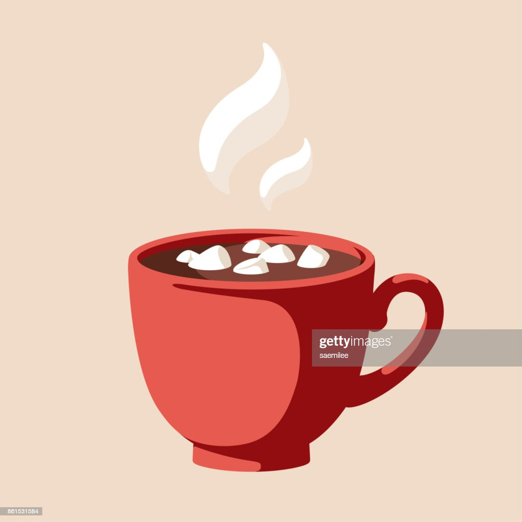 Hot Chocolate High Res Vector Graphic Getty Images