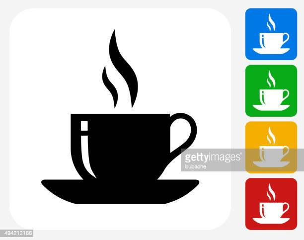 Hot Cup Icon Flat Graphic Design