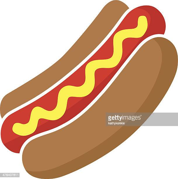 hot dog in color