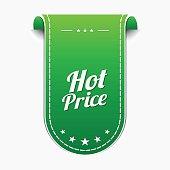 Hot Price Green Vector Icon Design