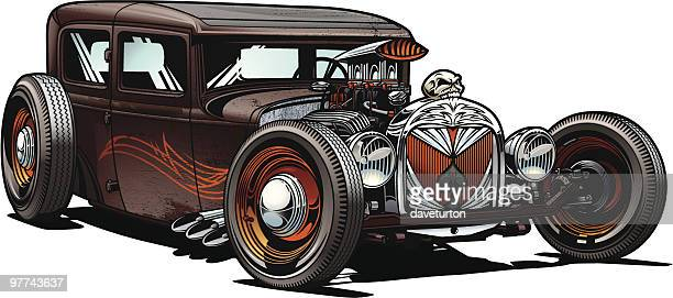 d671b2e30520f3 60 Top Hot Rod Car Stock Illustrations, Clip art, Cartoons, & Icons ...