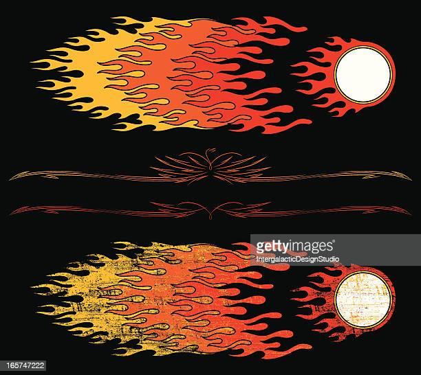 Hot Rod Flames Design Set