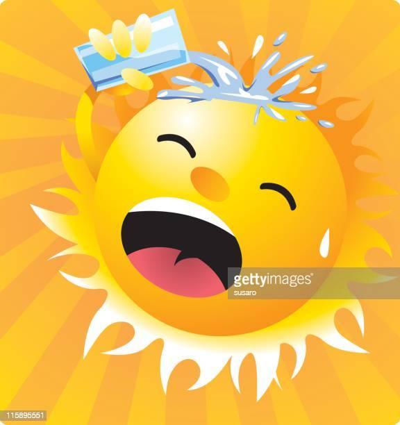 Warmen sonnigen Tag
