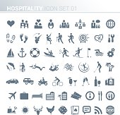Hotel activity icons