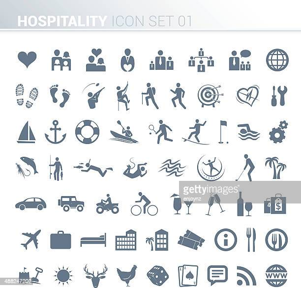 Hotel activity icons