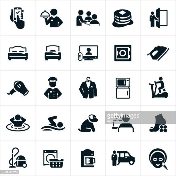 Hotel Amenities Icons