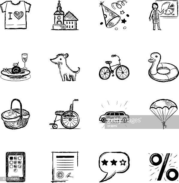 hotel and travel - picnic basket stock illustrations