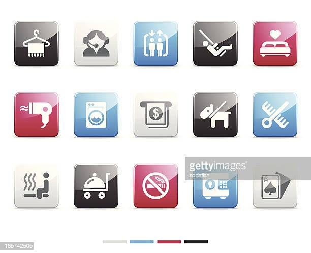 Hotel facility icons | Senso series