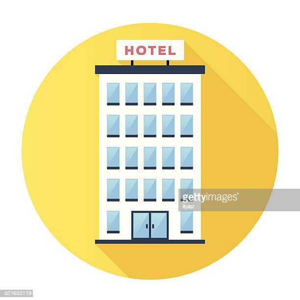 hotel icon - hotel stock illustrations