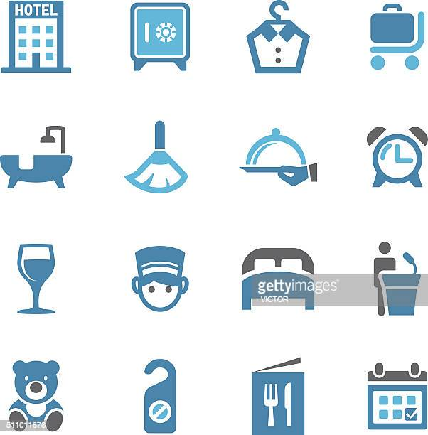 hotel icons - conc series - office safety stock illustrations, clip art, cartoons, & icons