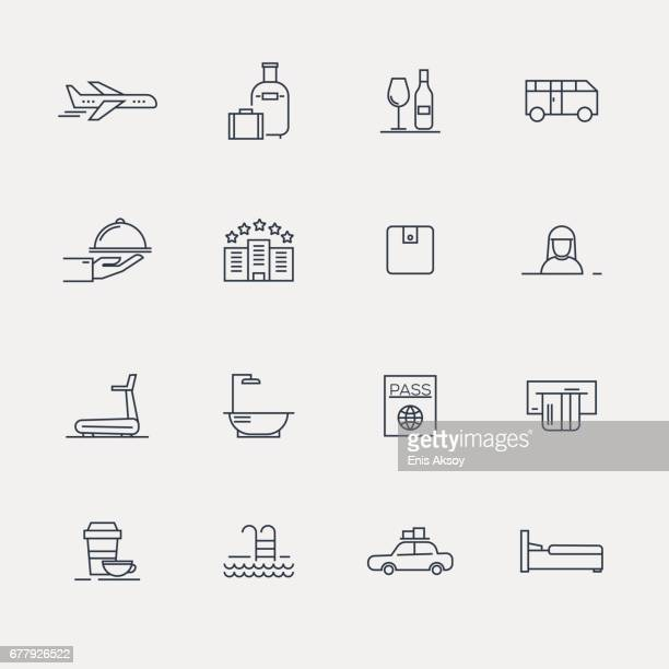 Hotel Icons - Line serie