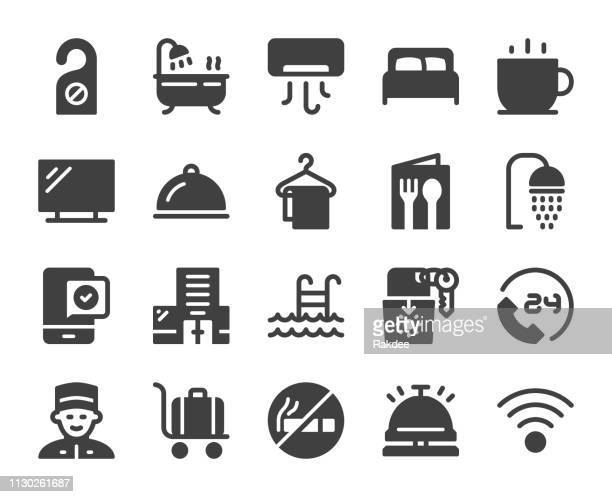 hotel - icons - cardkey stock illustrations, clip art, cartoons, & icons