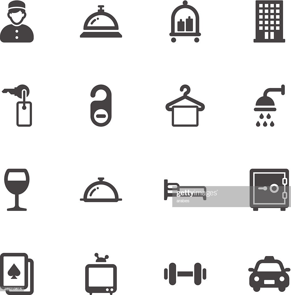 Hotel icons
