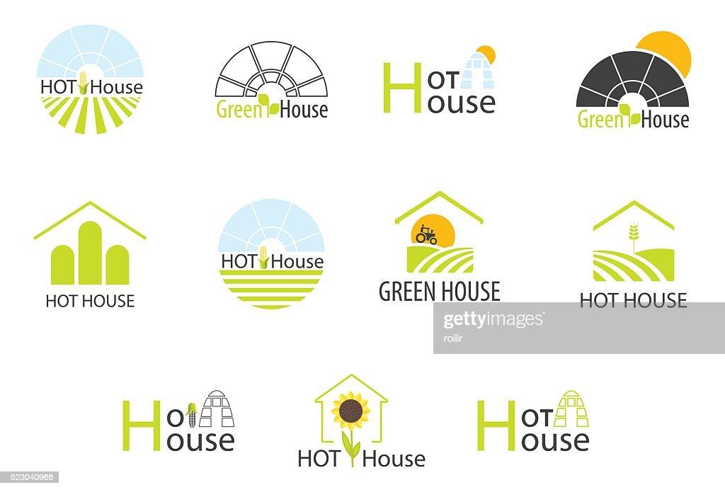 Hothouse logos collection
