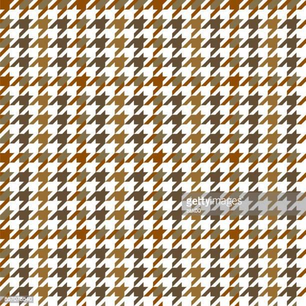 houndstooth pattern - scottish tweed stock illustrations, clip art, cartoons, & icons