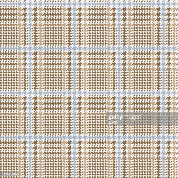 houndstooth seamless pattern - textile industry stock illustrations