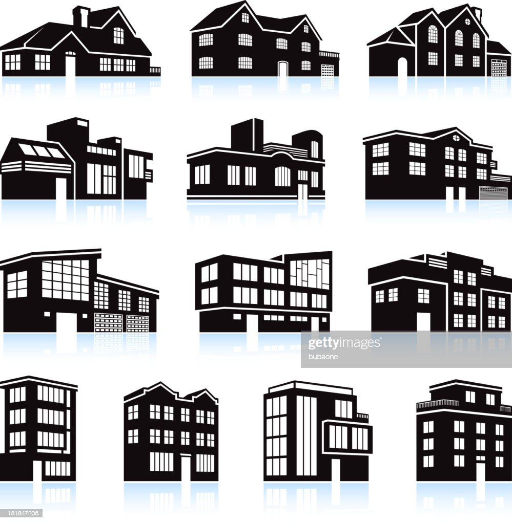 apartment building vector illustrations and clipart 77 648 black