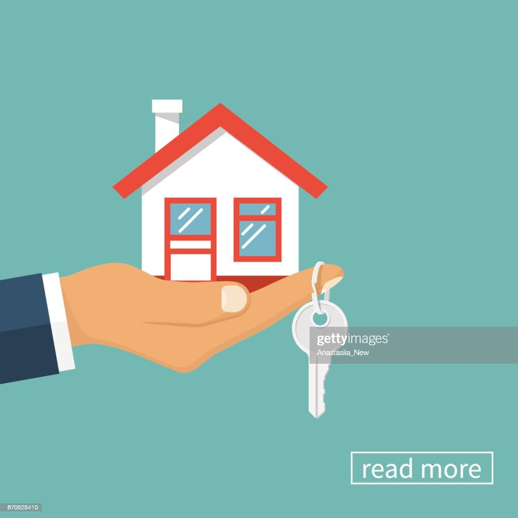 House and key in hand
