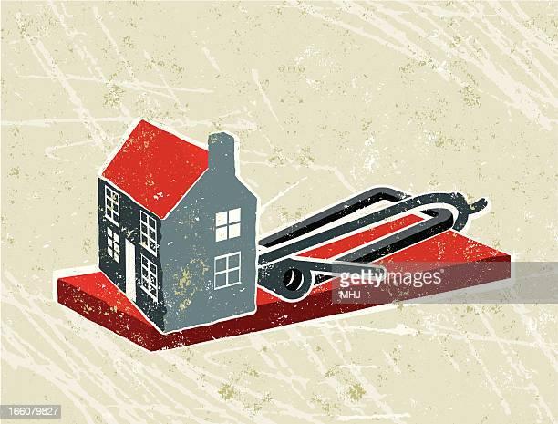 Haus und Mausefalle
