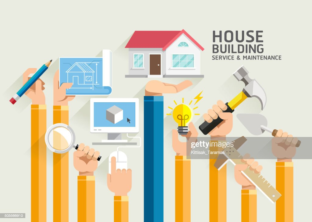 House Building Service and Maintenance.