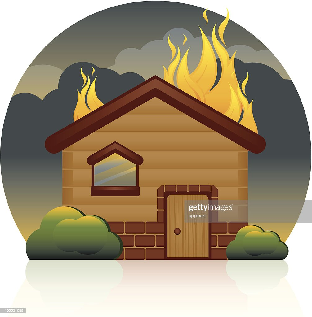 house fire vector art getty images rh gettyimages com all lives matter cartoon house on fire cartoon house on fire black lives matter