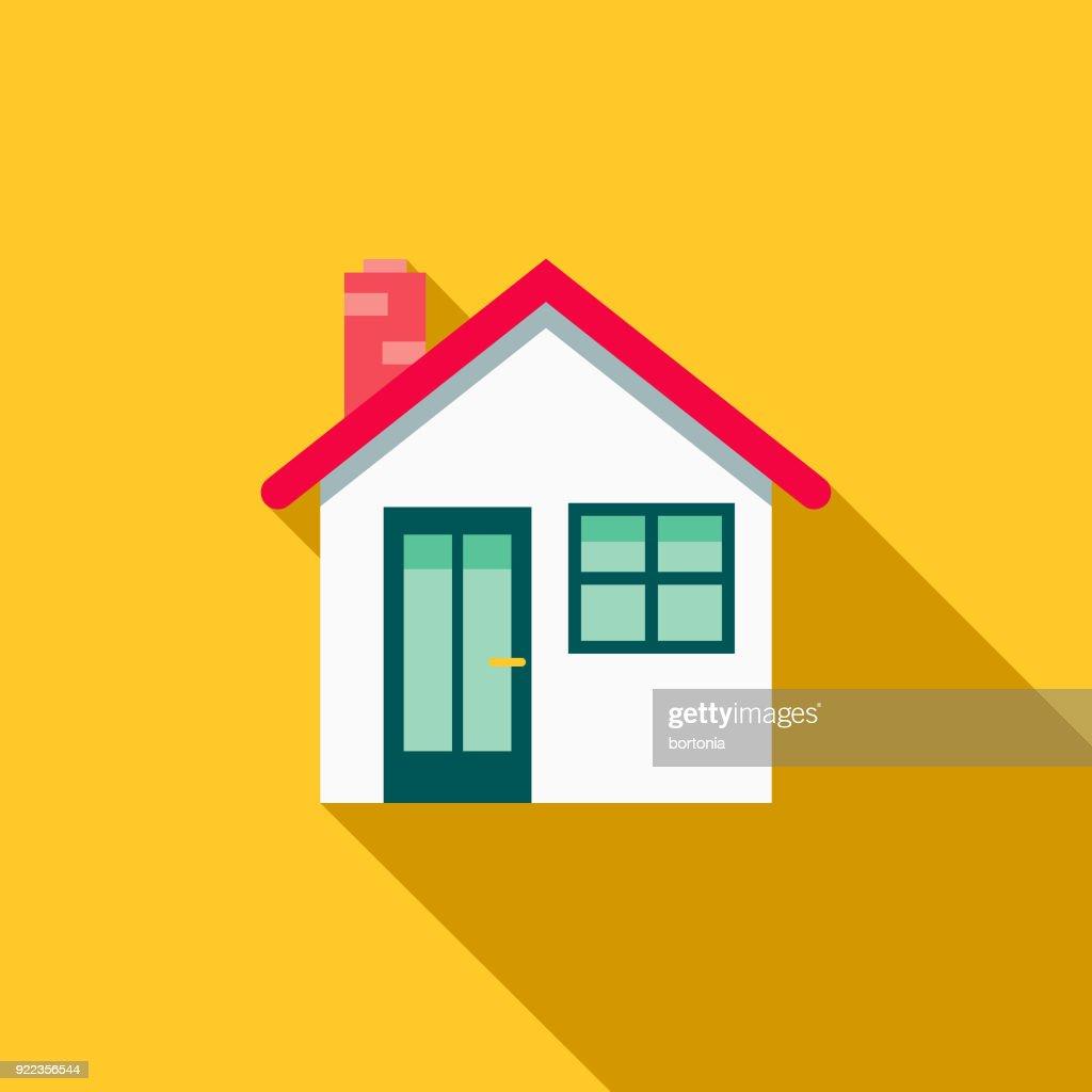 House Flat Design Home Improvement Icon : stock illustration