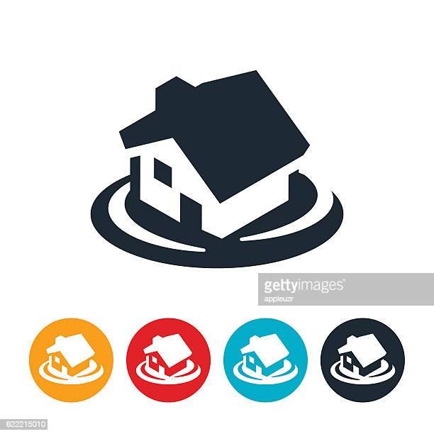 House Flood Icon