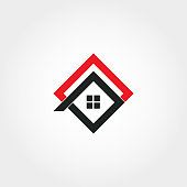 House icon design, real estate sign
