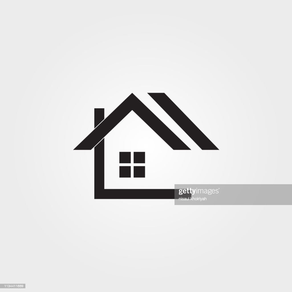 House icon template,building architecture