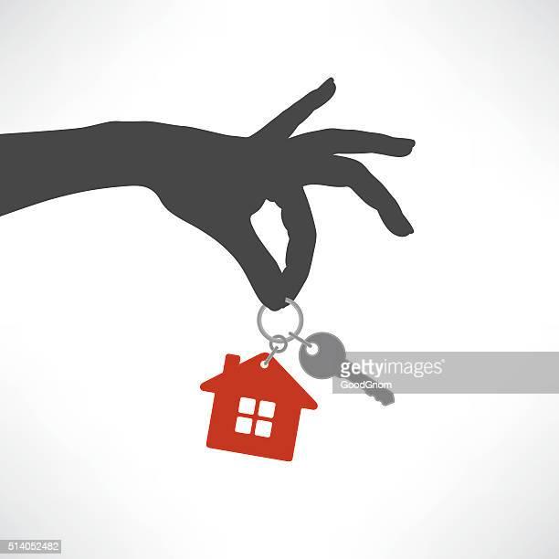 house key - key stock illustrations, clip art, cartoons, & icons