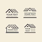 House logo. Template vector property. Icon for your design