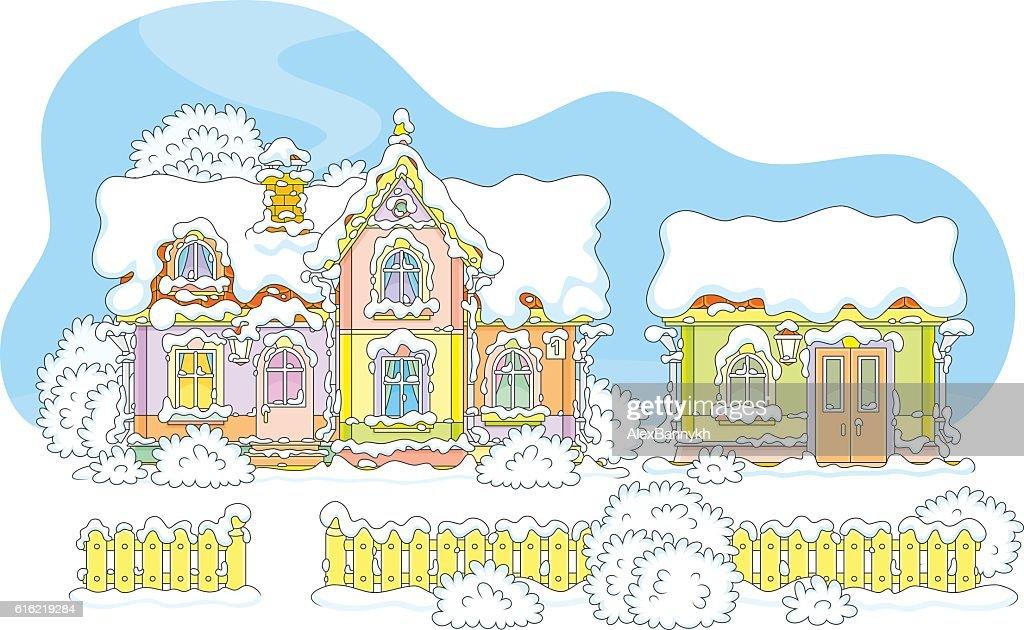House of Santa : Vektorgrafik
