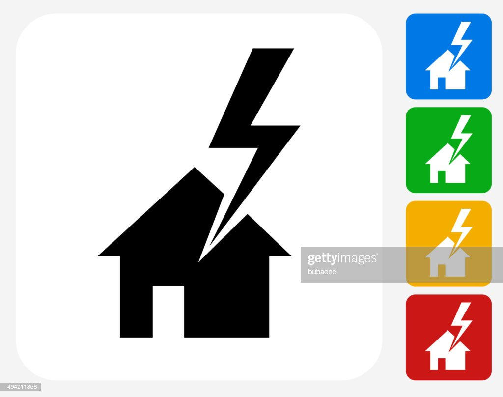 House Struck By Lightning Icon Flat Graphic Design Vector Art ... on house of sharks, house of liberty, house of earth, house of grass, house of abuse, house of water, house of illusion, house of birds, house of tempest, house of flames, house of snow, house of ducks, house of summer, house of clouds, house of light, house of libra, house of stars, house of sky, house of zen, house of batman,