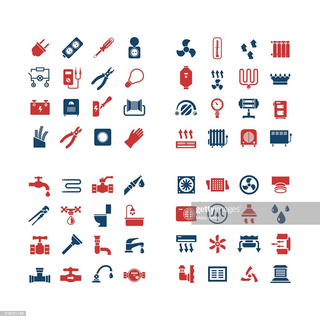 House system color icons